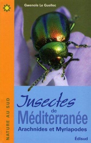 Insectes de Méditerranée - edisud - 9782744907616 -