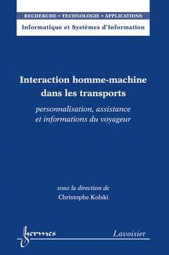 Interaction homme-machine dans les transports - hermès / lavoisier - 9782746230101 -