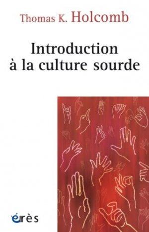 Introduction à la culture sourde - eres - 9782749250403 -
