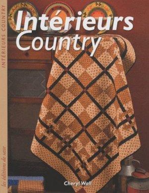 Intérieurs Country - de saxe  - 9782756505602 -