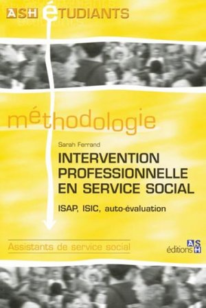 Intervention professionnelle en service social - ash - 9782757305546 -
