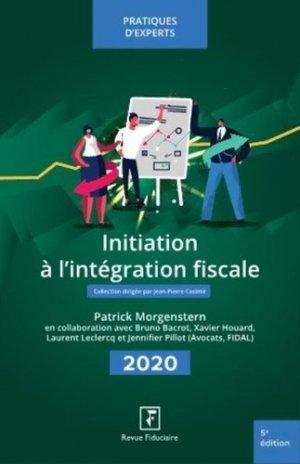 Initiation à l'intégration fiscale - Groupe Revue Fiduciaire - 9782757908198 -
