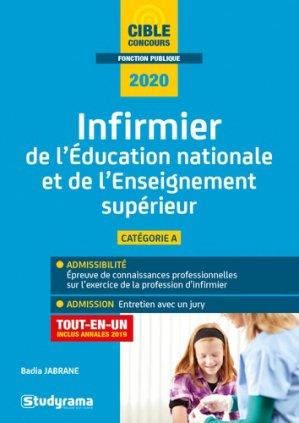 Infirmier de l'éducation nationale et de l'enseignement supérieur 2020 - studyrama - 9782759040650