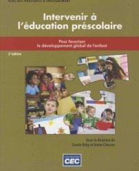 Intervenir à l'éducation préscolaire - CEC - 9782761728676 -