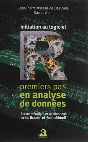 Initiation au logicel R - academia bruylant - 9782806101969 -