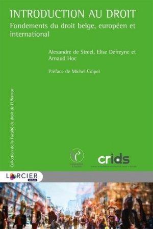 Introduction au droit - Éditions Larcier - 9782807916623 -