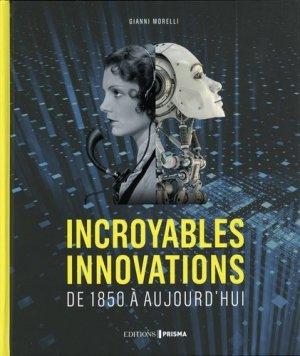 Incroyables innovations - prisma - 9782810424856 -