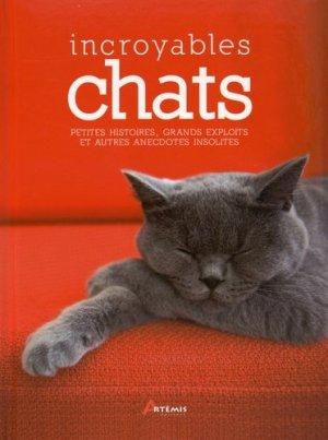 Incroyables chats - artemis - 9782816008388 -