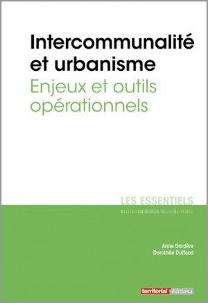 Intercommunalité et urbanisme - enjeux et outils opérationnels - territorial - 9782818616956 -