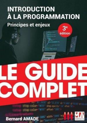Introduction à la programmation - Micro Application Editions - 9782822406352 -