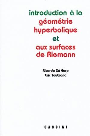 Introduction à la Géométrie Hyperbolique et aux surfaces de Riemann - cassini - 9782842250850 -