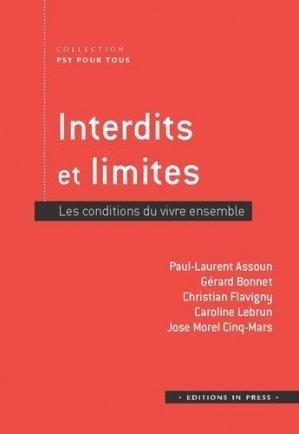 Interdits et limites - in press - 9782848354156 -