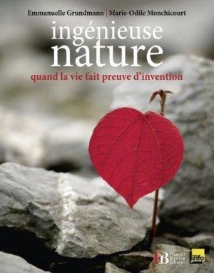 Ingénieuse nature - francois bourin - 9782849412657 -