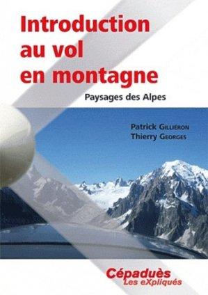 Introduction au vol en montagne - cepadues - 9782854289886 -