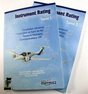 Instrument Rating - institut mermoz - 9782862482309 -