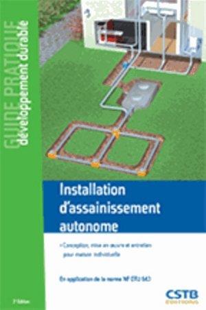 Installation d'assainissement autonome - cstb - 9782868916013 -
