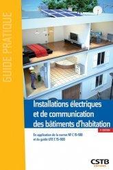 Installations électriques et de communication des bâtiments d'habitation - cstb - 9782868916686