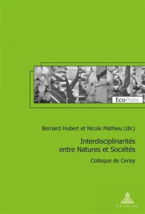 Interdisciplinarités entre Natures et Sociétés - peter lang - 9782875743473 -