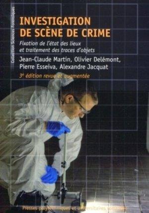 Investigation de scène de crime - presses polytechniques et universitaires romandes - 9782880748456 -
