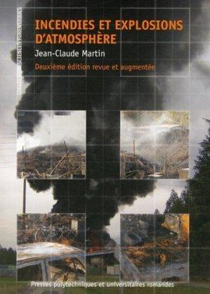 Incendies et explosions d'atmosphère - presses polytechniques et universitaires romandes - 9782889150397 -