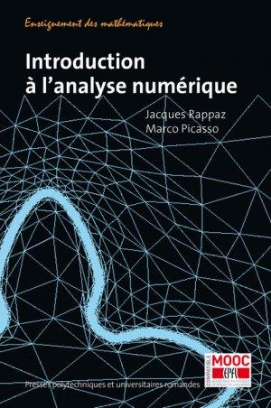 Introduction à l'analyse numérique - presses polytechniques et universitaires romandes - 9782889151936 -