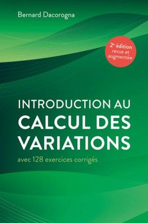 Introduction au calcul des variations - ppur - 9782889153183 -