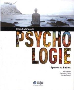 Introduction à la psychologie - modulo (canada) - 9782896504114 -