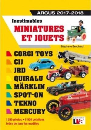 Inestimables miniatures et jouets Argus 2017-2018 - lva (la vie de l'auto) - 9782905171863 -