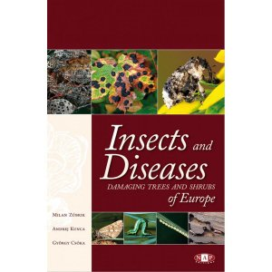 Insects and Diseases damaging trees and shrubs of Europe - nap - 9782913688186 -