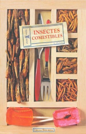 Insectes comestibles - plume de carotte - 9782915810813 -