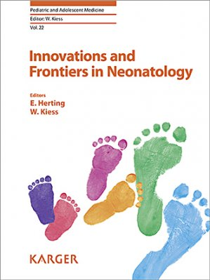 Innovations and frontiers in neonatology - karger  - 9783318066203 -