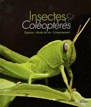 Insectes et coléoptères - komet - 9783625001195 -