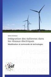 Intégration des éoliennes dans les réseaux électriques - Presses Académiques Francophones - 9783838170534 -