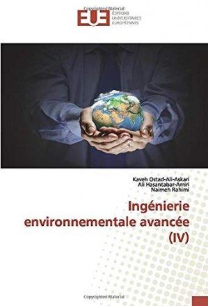 Ingénierie environnementale avancée - editions universitaires europeennes - 9786139561551 -