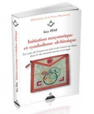 Initiation maçonnique et symbolisme alchimique - Dervy - 9791024202204 -