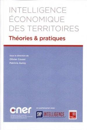 Intelligence économique des territoires - Conseil National des Economies Régionales - 9791094385012 -