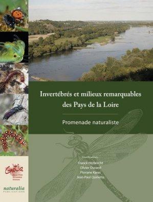 Invertébrés et milieux remarquables des Pays de la Loire - naturalia publications - 9791094583081