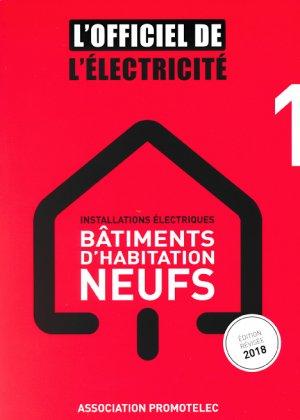 Installations électriques bâtiments d'habitation neufs - promotelec - 9791096895069 -
