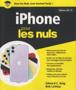 iPhone pour les nuls - first - 9782412050699 -