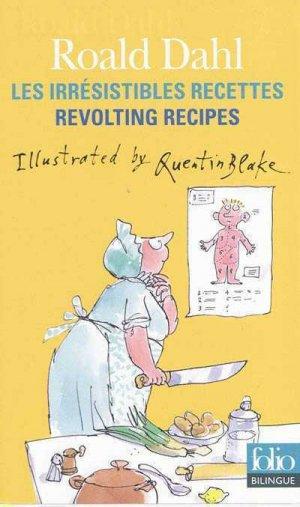 Les irrésistibles recettes de Roald Dahl - gallimard editions - 9782070329984 -