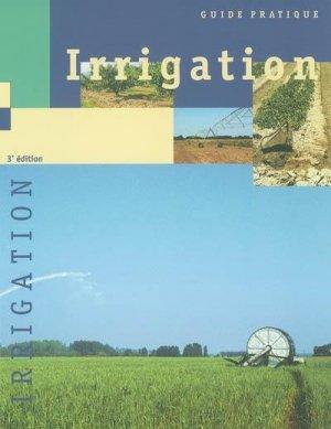 Irrigation - cemagref - 9782853625920 -