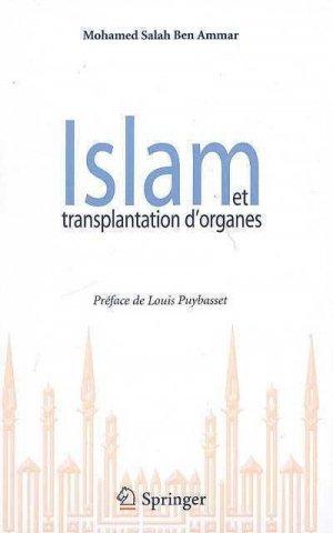 Islam et transplantation d'organes - springer - 9782287928444 -