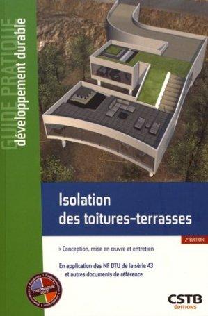 Isolation des toitures-terrasses - cstb - 9782868916846 -