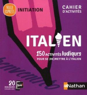 Italien, cahier d'activités - Nathan - 9782091652931 -