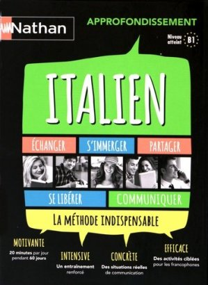 ITALIENAPPROFONDISSEMENT COFFRET  - NATHAN - 9782098118461 -