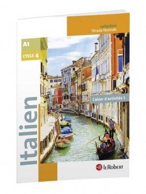 Italien Cycle 4 A1 Strada Facendo - Le Robert - 9782321011729 -