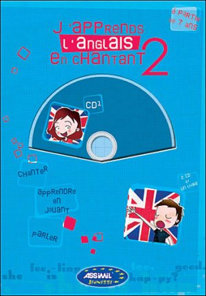 J'Apprends l'Anglais en Chantant 2 - assimil - 9782700530278 -