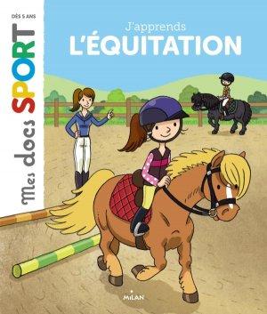 J'apprends l'équitation - milan - 9782745979827