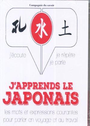 J'apprends le japonais - compagnie du savoir - 9782821113381 -