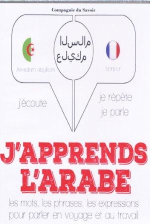 J'apprends l'arabe - compagnie du savoir - 9782821113657 -